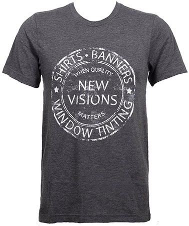 New Visions Screen Printed Shirt